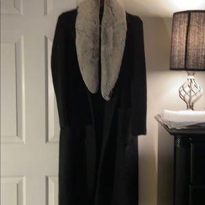 Brandy Manville long winter coat